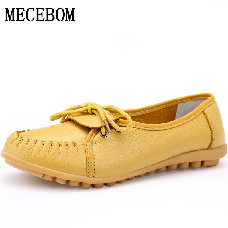 2017 Shoes Woman Leather Women Shoes Flats 4 Colors Buckle Loafers Slip On Women's Flat Shoes Moccasins Plus Size 1518W 2017 shoes woman leather women shoes flats colors footwear loafers moccasins slip on women s flat shoes plus size ballet 459w