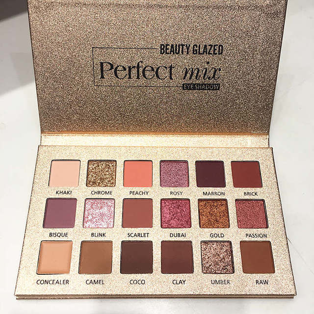 18 Color Shining Eyeshadow Palette