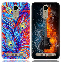 Drop Shipping TPU Soft Phone Case for ZTE Blade A602 5.5-inch Fashion Pattern Colorful Painted(China)