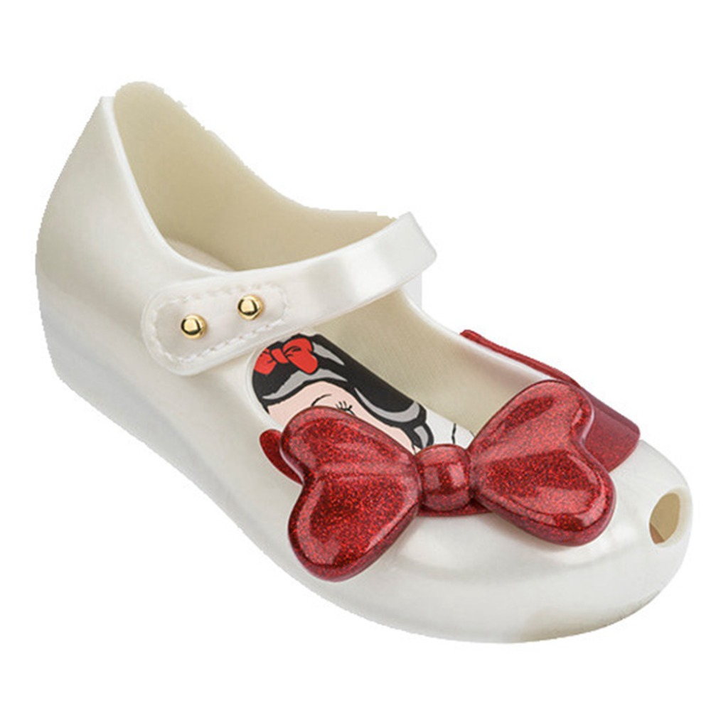 Melissa Shoes 2019 New Summer Snow Princess Jelly Shoe Girl Non slip Kids Toddler Beach Sandals 13 18cm in Sandals from Mother Kids