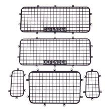 New Black 5pcs Metal Window Mesh Protective Net for 1/10 RC Crawler Car Traxxas TRX-4 for Traxxas Climbing Car TRX-4 Window