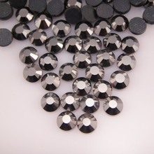 Hot sale Glitter SS6-SS30 1440pcs All colors Rhinestone Fix Flatback DMC Hotfix Rhinestones Iron On For Garment Dresses