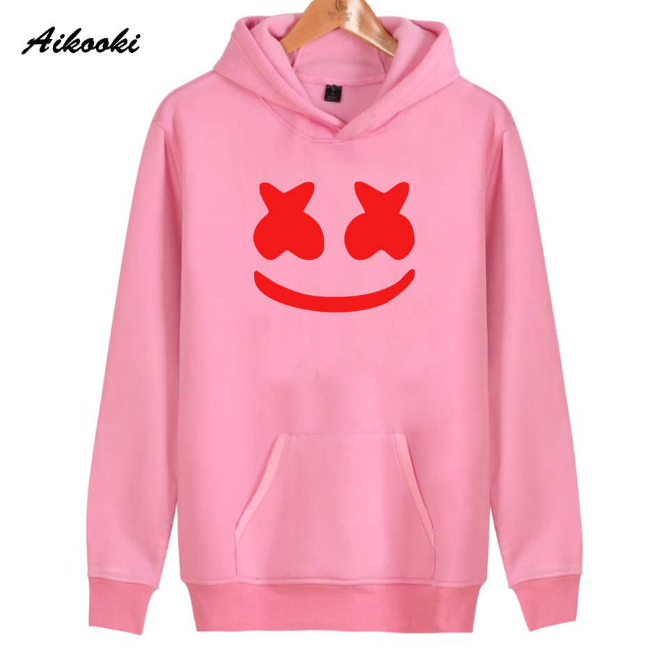 2018 New Smlie Hoodies Women/Men high quality Cotton Harajuku Womens Hoodies and Sweatshirt Smlie Casual Hoodies Clothes