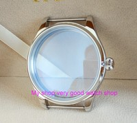 parnis 44MM 316L stainless steel watch case fit 6497/6498 Mechanical Hand Wind movement 02