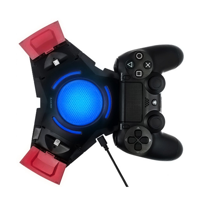 3 USB PS4 Controller charger Dualshock 4 Charger Triangle Dock Game Consoles for PlayStation 4 Controller