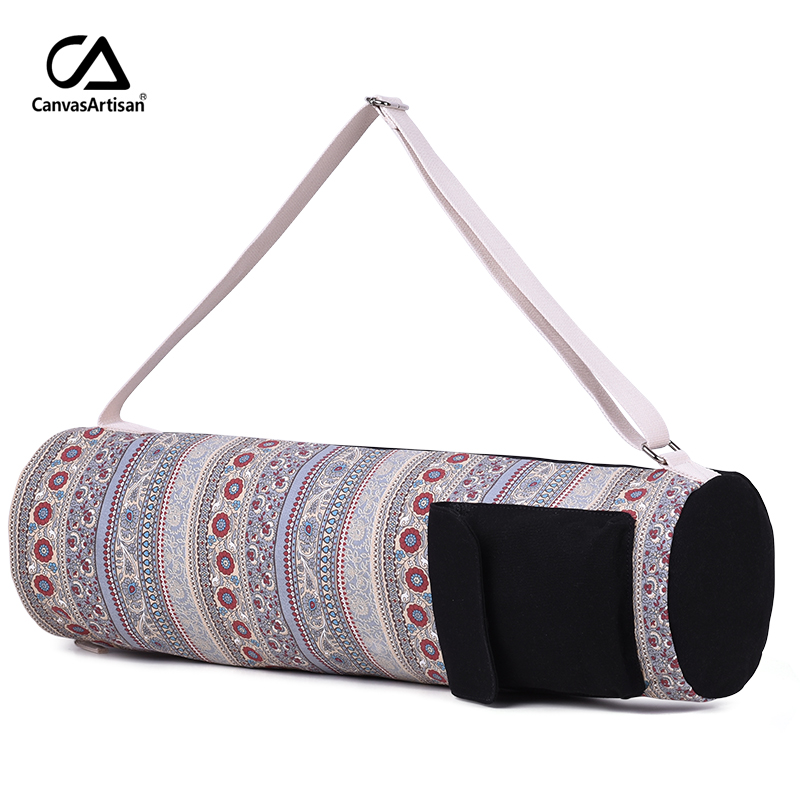Canvasartisan women's canvas handbag multifunctional Travel Bag large capacity retro style female workout shoulder bags canvasartisan top quality women canvas