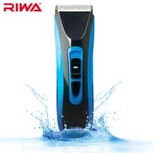 Riwa grado ipx7 impermeable profesional hair trimmer ce certificado de alta calidad sin cuerda del pelo clipper re-750a