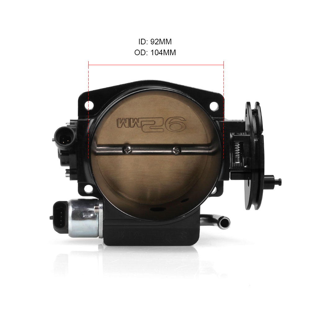 Throttle Position Sensor 92mm Throttle body TPS IAC For LSX LS LS1 LS2 LS7 BK
