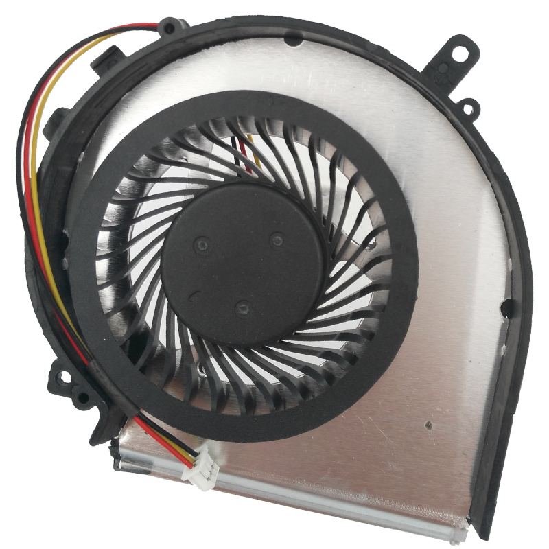 Купить с кэшбэком New Laptop Cooling Fan For MSI GE72 GE62 PE60 PE70 GL62 GL72 2QD 2QE 2QF 007X 053X 216XCN Cooling Cooler PAAD06015SL CPU fan