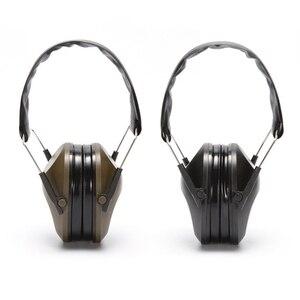 Image 3 - Składana ochrona słuchu strzelanie sportowe nauszniki nauszniki z redukcją szumów