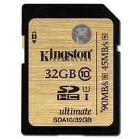 Kingston SDA10 32GB 64GB 128GB 512GB Class 10 UHS I SDHC SDXC Memory Card Up To