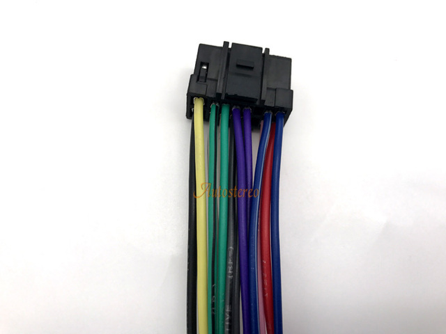 iso standard harness for alpine car radio wire cable wiring harness radio  wire wiring harness adapter connector-in cables, adapters & sockets from