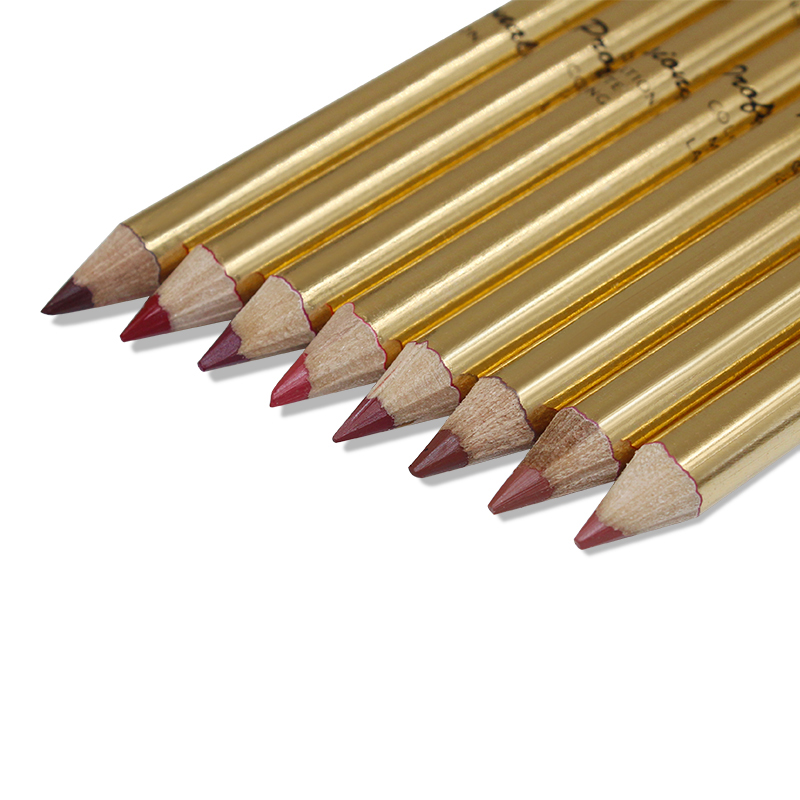 8 Colors Brand Lip Pencils Matte Lipliner Pencil Waterproof Makeup Lips 2018 Matte Lipstick Lip Liner Pen Smooth Nude Cosmetics