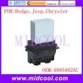 Новый двигатель вентилятора резистор Регулятор вентилятора модуль использования OE NO. 4885482AC для Dodge Jeep Chrysler