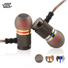 KZ EDR1 Special Edition Gold Plated Housing Earphone With Microphone 3.5mm HD HiFi In Ear Monitor Bass Stereo Earbuds For Phone цены