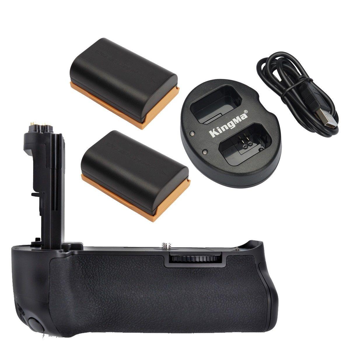 Meike MK 5D3 BG E11 Battery Grip 2 LP E6 USB Charger for Canon Eos 5D