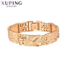 Xuping New Design Fashion Bracelets Charm Style Bracelets for Women Imitation Jewelry Valentine's Day Gifts S84-75194(China)
