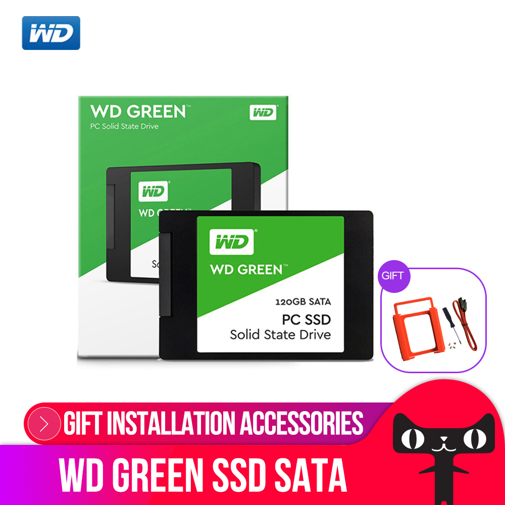 Western Digital WD GREEN PC SSD 240GB SATA 3 laptop internal sabit hard disk drive interno hd notebook harddisk disque 240gb ssd 240 wd green