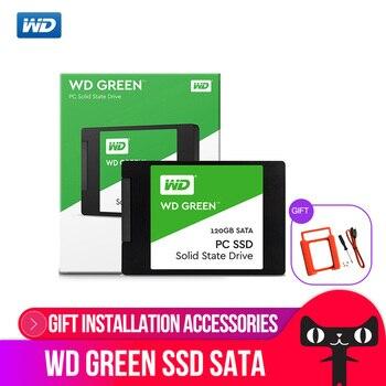 WD GREEN PC SSD 240GB SATA 3 laptop internal sabit hard disk drive interno hd notebook harddisk disque 240gb  Western Digital Internal Solid State Drives