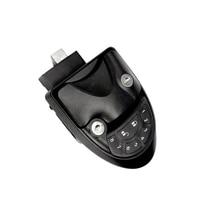 Car Black RV Keyless Entry Door Lock Latch Handle Knob Remote Control Camper Trailer