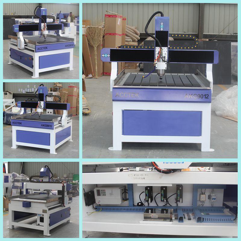 Opération facile CNC moteur de broche de routeur pour le fraisage des métaux 9012 1212 CNC accessoires CNC machine de découpe