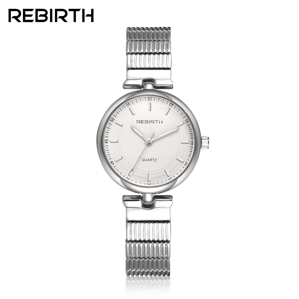 Simple stainless steel women's fashion silver watches 2017 Rebirth famous brand quartz woman clock lady women watch montre femme kezzi famous brand women watches fashion silver rose gold women s bracelet watch quartz stainless steel wristwatch lady clocks