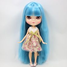 ICY Neo Blythe Doll Blue Hair Azone Jointed 30cm