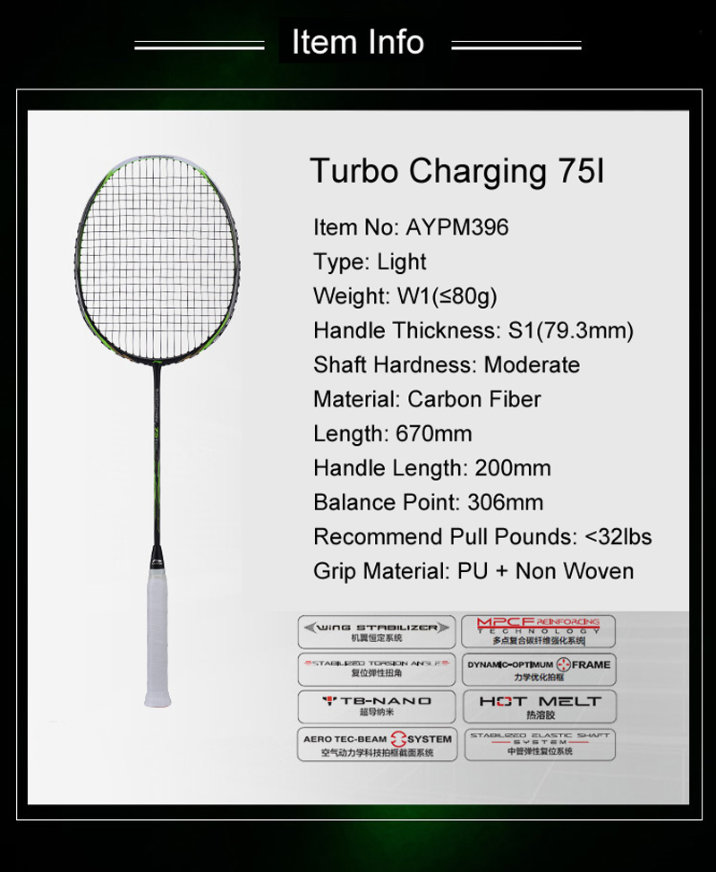 Li-Ning Turbo Charging 75I