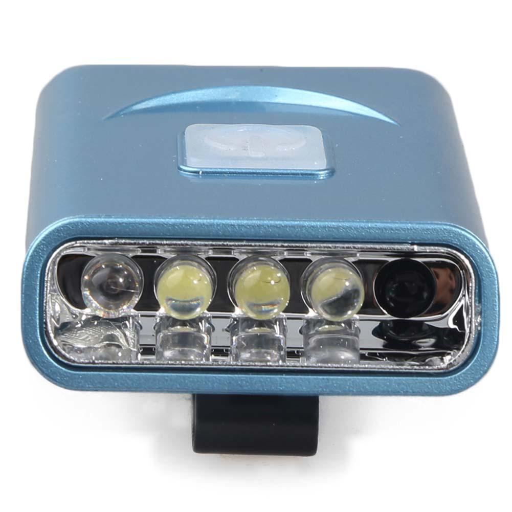 St Oplaadbare Led Sensor Hoofd Cap Hoed Lamp Licht Usb