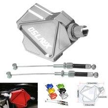 Мотоцикл с ЧПУ легко тянуть сцепления Рычаги системы для HONDA XRV750 XRV 750 L-Y Африка Твин 1990-2003 Motos Велосипед Pull кабель системы