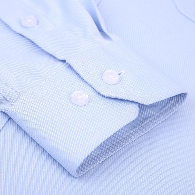 4XL 5XL 6XL 7XL 8XL Large Size Men's Business Casual Long Sleeved Shirt White Blue Black Smart Male Social Dress Shirt Plus 5