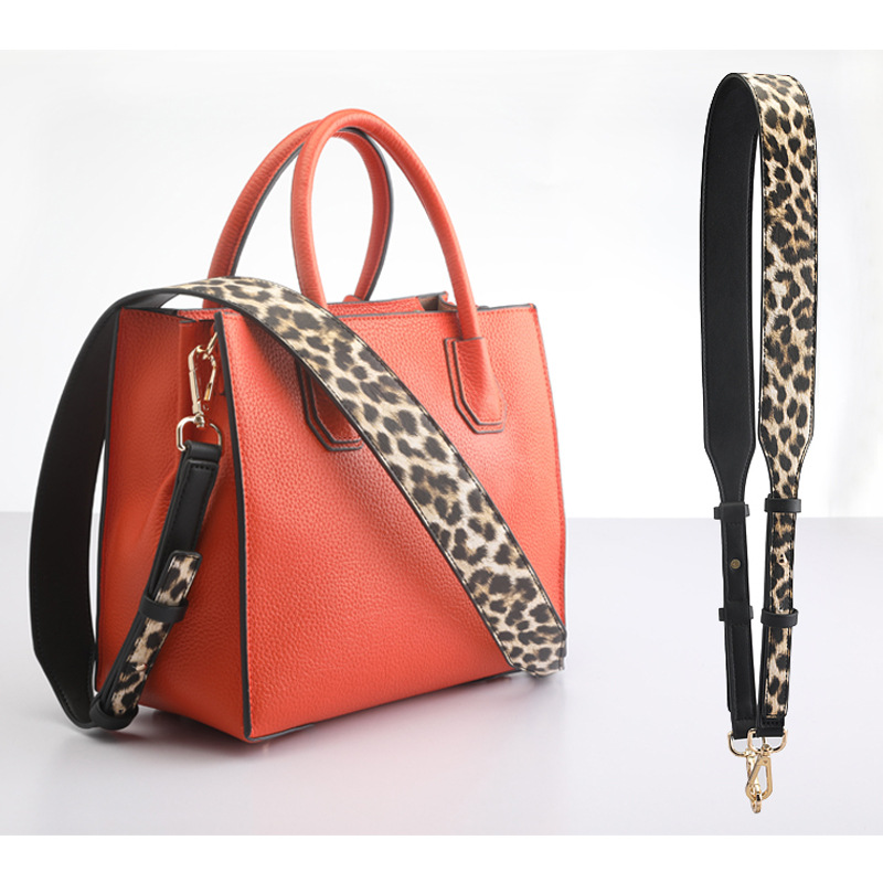 Wide bag Strap women 39 s belt for bag accessories replacement shoulder strap adjustable Leopard Handbags Crossbody Messenger Belt in Bag Parts amp Accessories from Luggage amp Bags