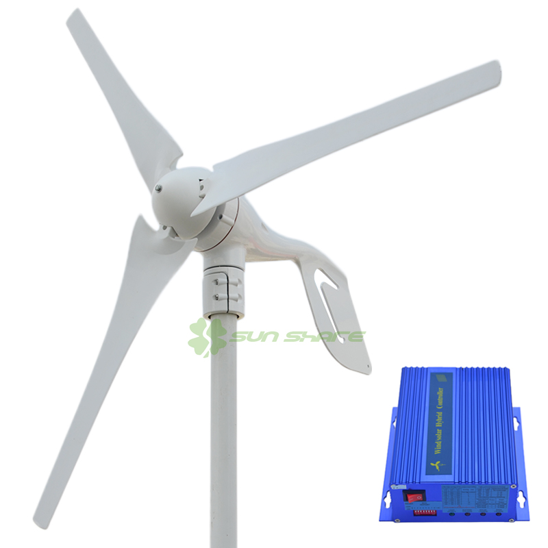Free shipping small wind turbine max power 600w +700w wind solar hybrid controller for (400w wind generator +300w solar panel) tbi 2510 c3 620mm ball screw 10mm lead with dfu2510 ballnut end machined for cnc diy kit dfu set