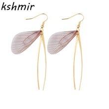 Handmade, restore ancient ways is the fairy butterfly wings earrings Ears to wear ear clip femininity