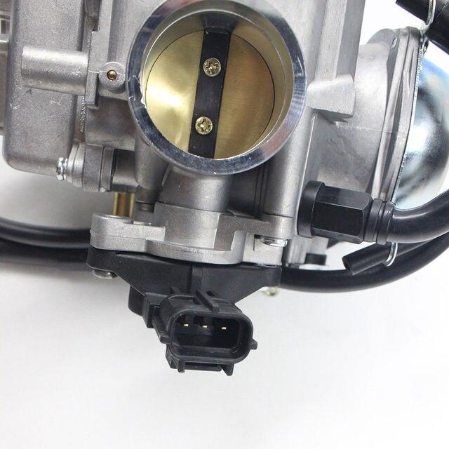 TRX500 wymiana gaźnika dla Honda TRX500 TRX 500 TRX500 Foreman Rubicon kompletny Carb 2001 2002 2003 ATV