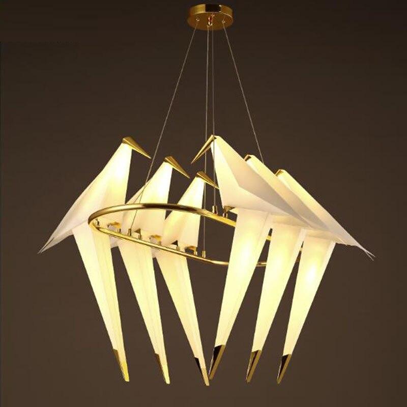 Moderne Große Kronleuchter Acryl Vogel LED Kronleuchter Luxus .
