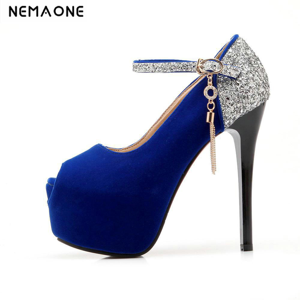 Sexy High Heels Shoes Women Pumps peep toe Platform Shoes For Women Round Toe Thin Heel Ladies Shoes Zapatos Mujer vtota high heels thin heel women pumps ol pumps offical shoes slip on shoes woman platform shoes zapatos mujer ladies shoes g56