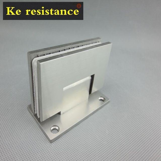 Ke Resistant Stainless Steel Glass Door Clamp 90 Bathroom Clamp