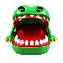 Hot Big Practical Jokes Biting Crocodile Mouth Tooth Bite Hand Finger Alligator Bar Game Funny Gags Toy Gift For Kids,Children 12pcs professional makeup brushes set brand new fan brush make up brushes kit high quality blush brush eyeshadow brush