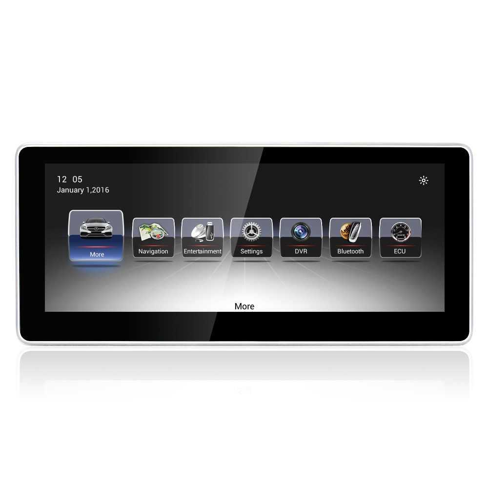 MERRYWAY 2013 2015 For Benz GLA / A/ CLA / GLK / W176/X156 / W204/ X204 10.25'' Android DVD Multi media gps Navigation Player