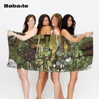 Michelangelo Teenage Mutant Ninja Turtles Custom Bath Towel Luxury Outdoor Travel Beach Towels Blanket