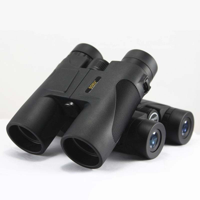 10X42 Binoculars Telescope Hunting Telescopio Binoculo Light Glimmer Night Vision Outdoors Travel 60mm 15x magnification hd telescope w glimmer night vision black