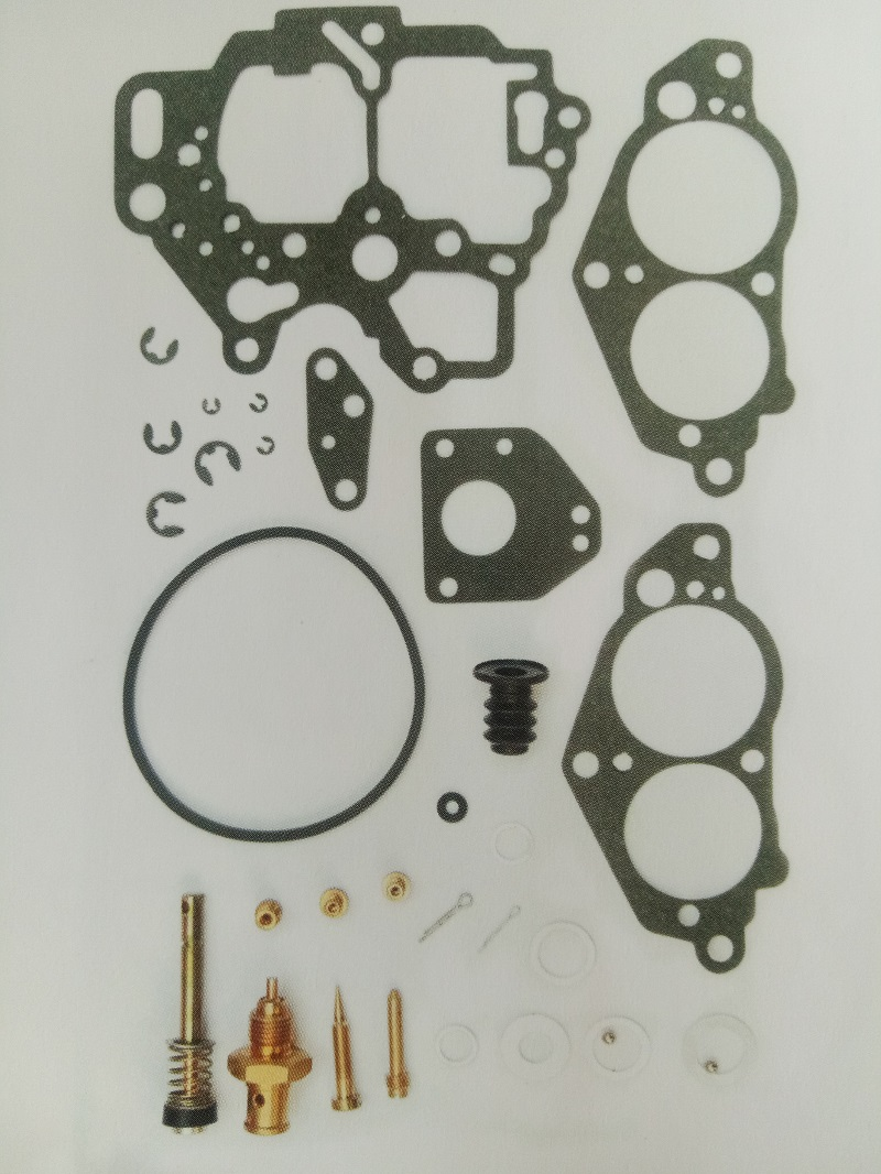 LOREADA Carburetor Repair Kits Bag For NISSAN Z24 1983 1984 1985 1986 Engine 16010-21G61 ...
