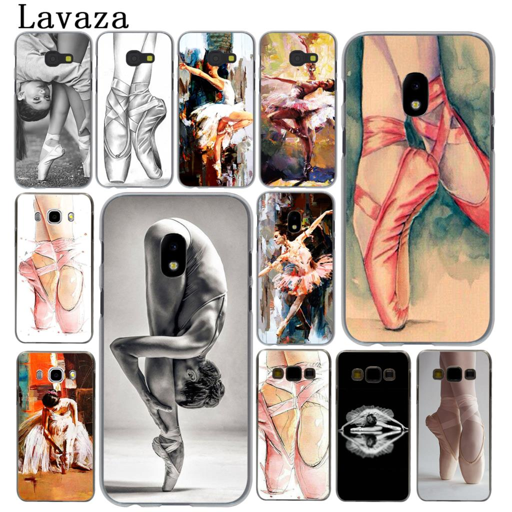 Lavaza Ballerina girl Pointe Ballet Slippers Shoes Case for Samsung Galaxy J5 J1 J2 J3 J7 2017 2016 2015 2018 J3 J5 Prime