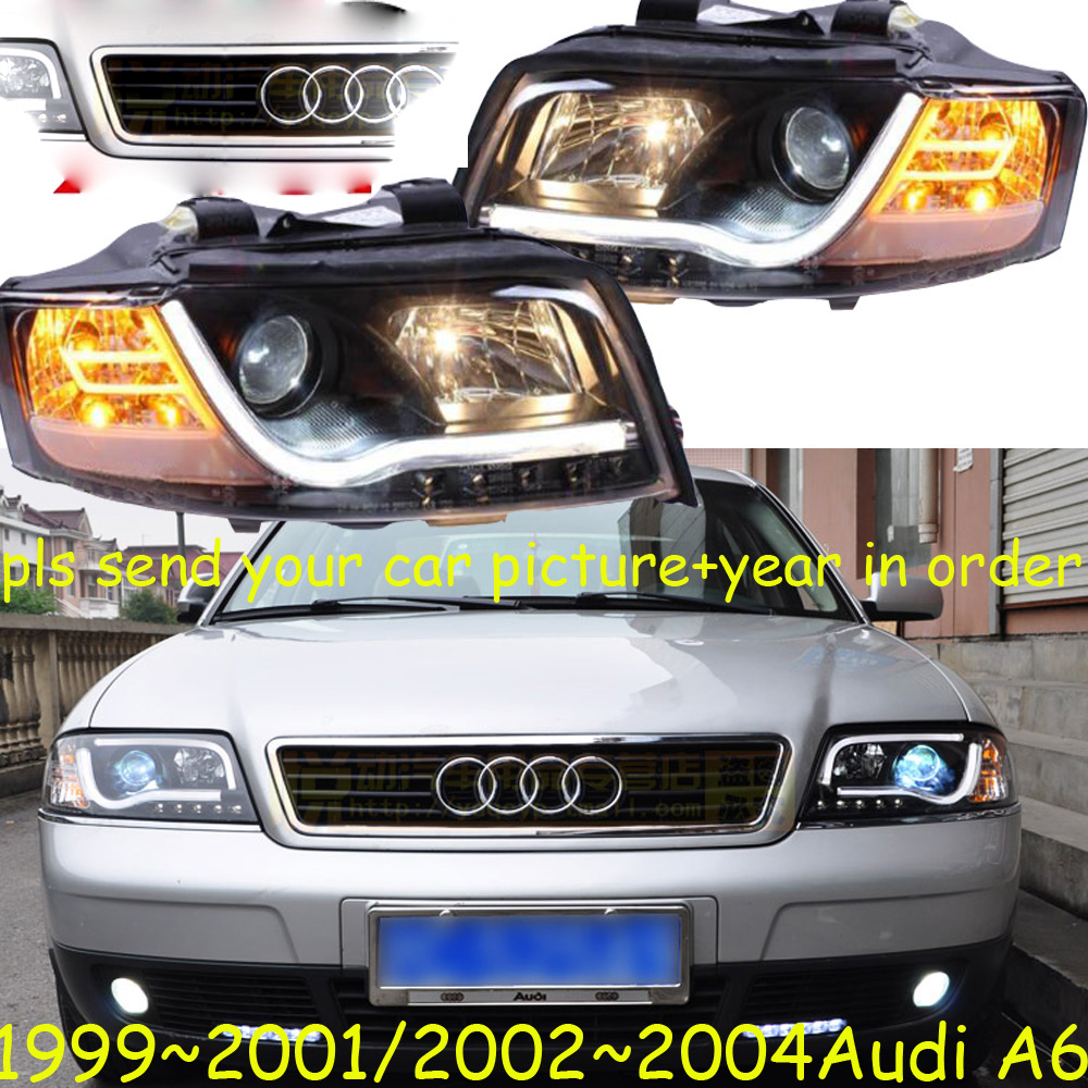 HID,1999~2004 Car Styling for Aude A6 Headlight,canbus ballast,A6 Fog lamp,A4,A5,A8,Allroad,Quattro,Q3,Q5,Q7,S3,A6 head lamp
