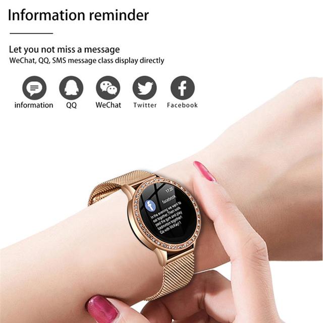 LIGE Smart Watch Women OLED Color Screen Heart Rate Monitor Ladies watch Fashion Fitness Tracker Sport Smartwatch Smart bracelet