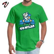 Funny Top T-shirts for Men Hip hop Summer Fall Tops & Tees Short Physics Ajax Printed Round Neck Kiss Fabric