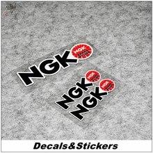 NO.L150 NGK Sign 3M светоотражающие модифицированные наклейки для автомобиля, стекла, водонепроницаемые наклейки для мотоцикла GP, гоночного мотоци...