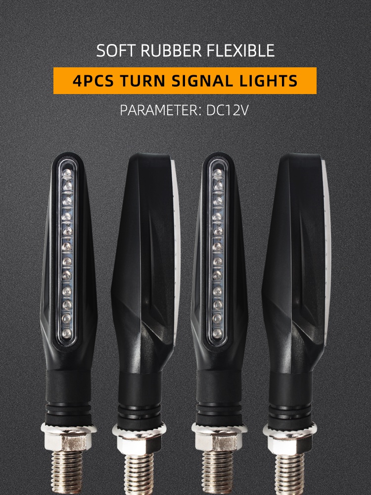 Motorcycle LED Signal-Indicator Amber Light Universal Turn YAMAHA 1set Tmax 530 for 500