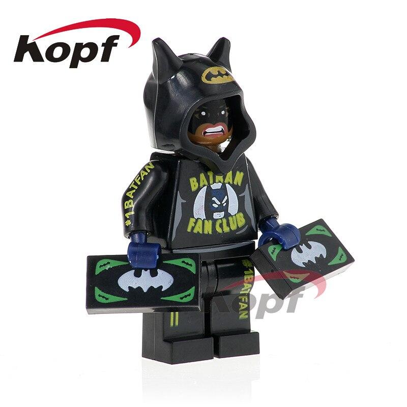 DC Building Blocks PG412 Batgirl Marvel Super Heroes Action Figures Kids Toys